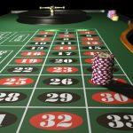 pile de jetons sur le 27 - casino craps